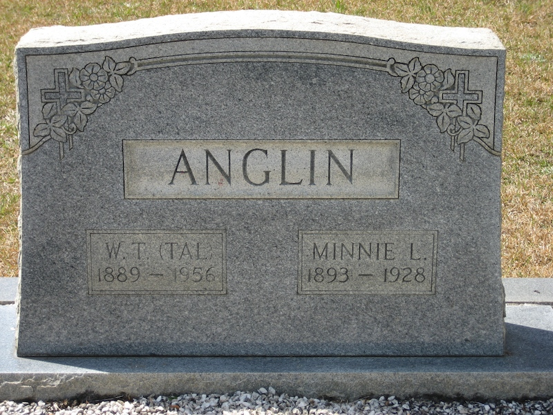 Minnie Lee <i>Rich</i> Anglin
