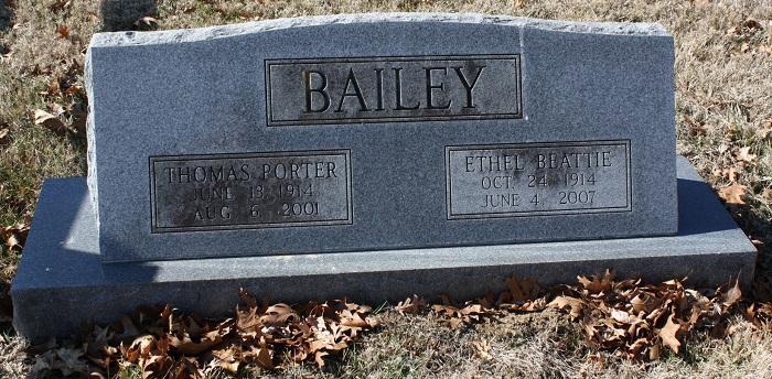Ethel <i>Beattie</i> Bailey
