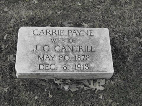 Carrie Eleanor <i>Payne</i> Cantrill