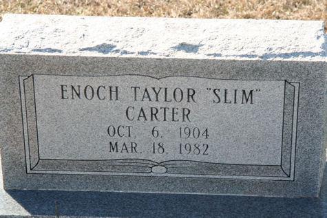 Enoch Taylor Slim Carter