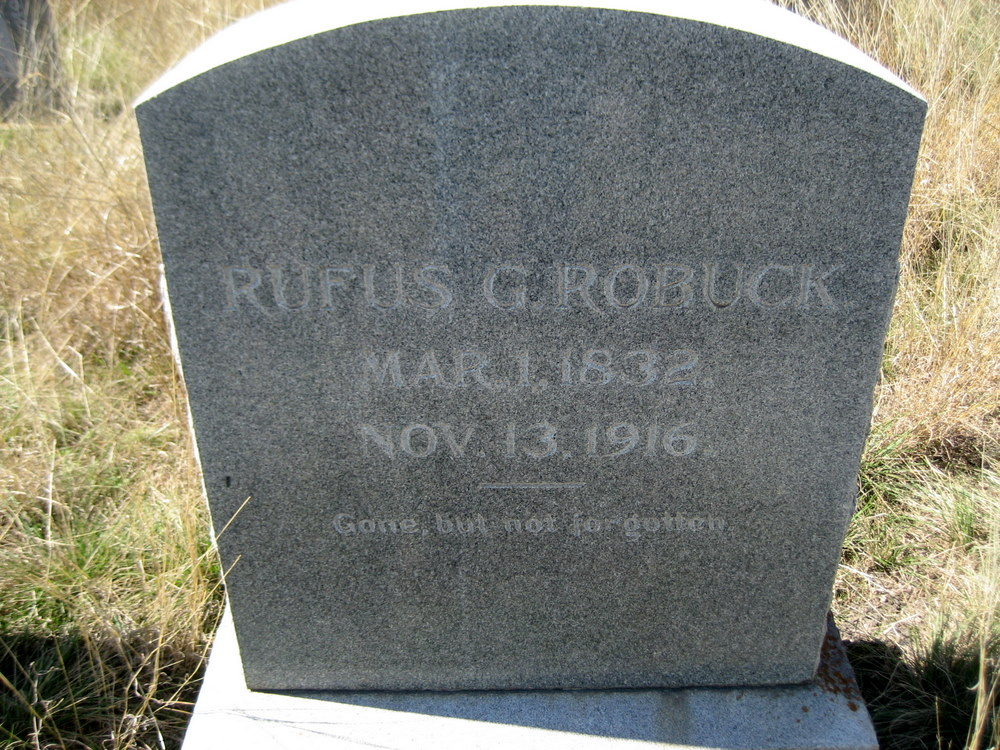 Rufus Green Robuck