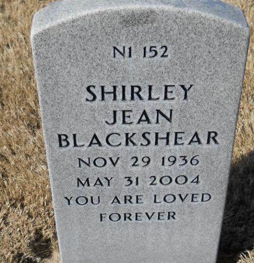 Shirley Jean Blackshear