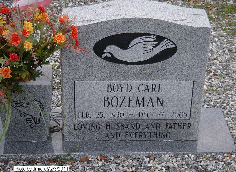 Boyd Carl Bozeman