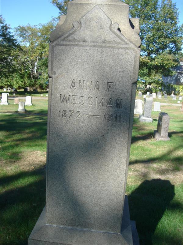 Anna F Wessman