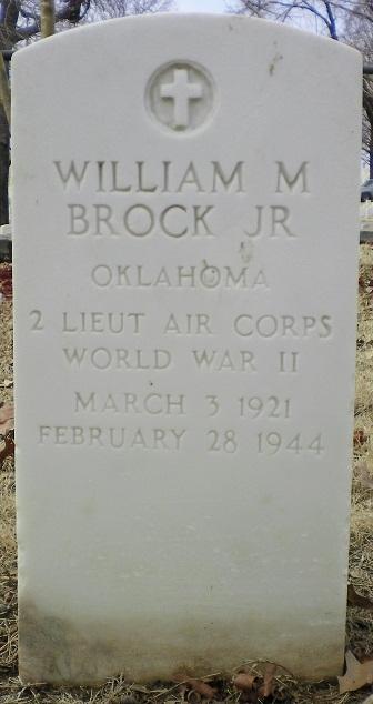 2LT William M Brock, Jr