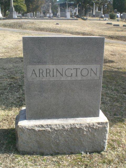 Anna Marshall Annie <i>Dillard</i> Arrington