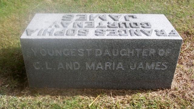 Frances Sophia <i>James</i> Courtenay