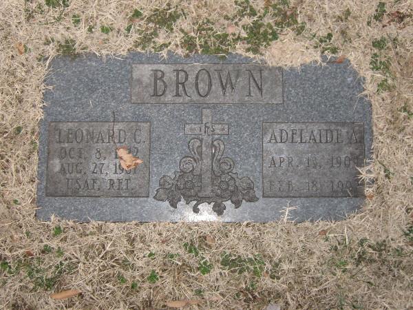 Adelaide Ann Brown
