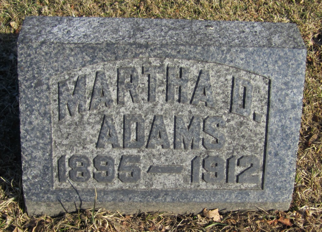 Martha Dinsmore Adams