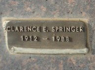 Clarence Edward Springer