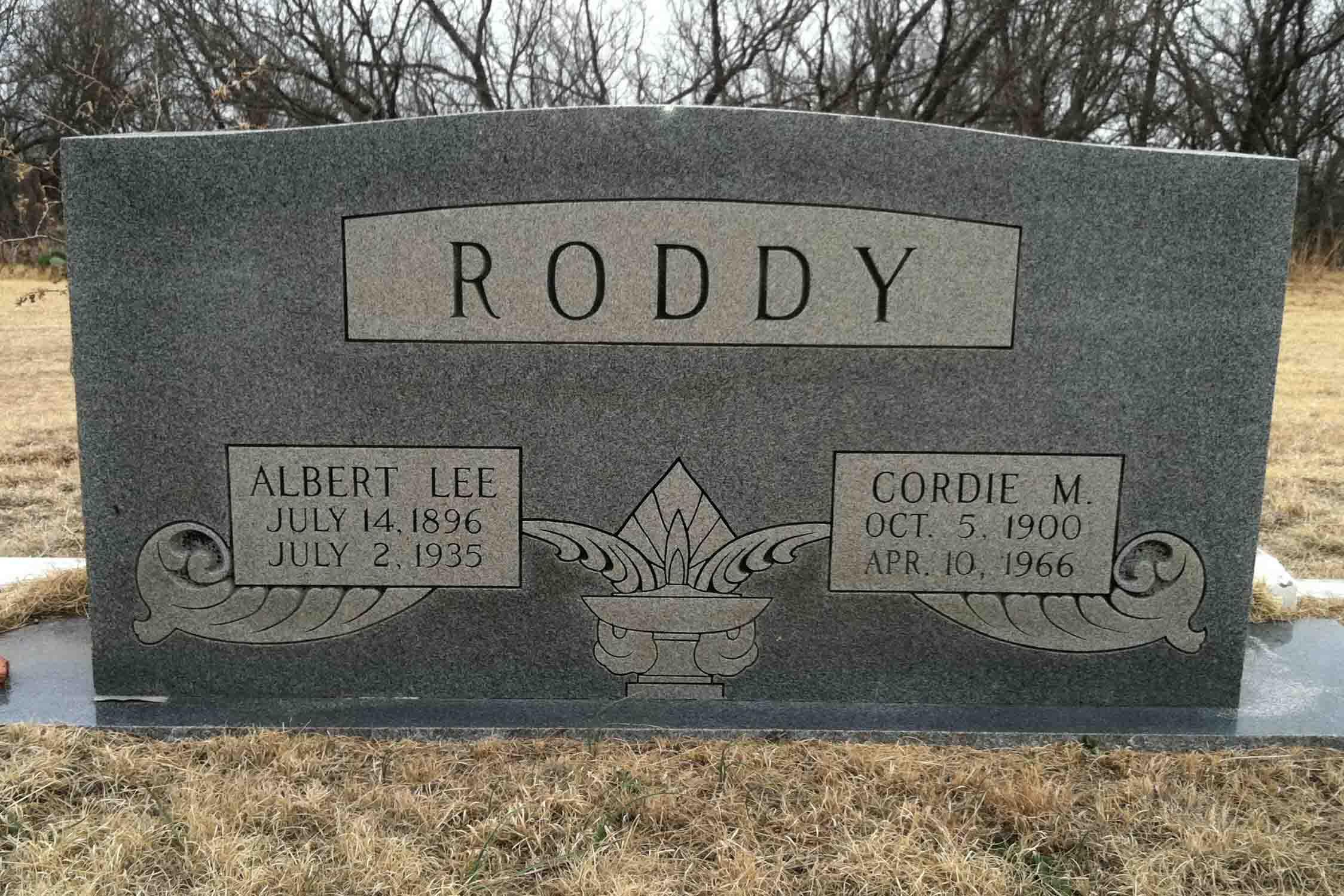 Cordie Molly <i>Crawford</i> Roddy