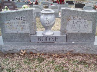Mary Pearl <i>Thompson</i> Boone