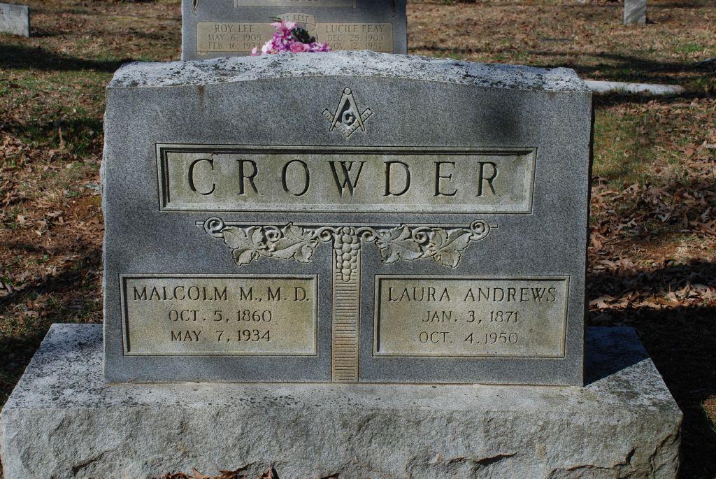 Laura <i>Andrews</i> Crowder