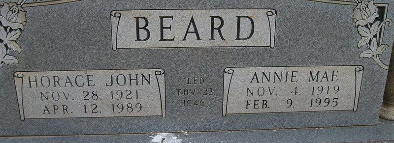 Annie Mae <i>Blackmon</i> Beard