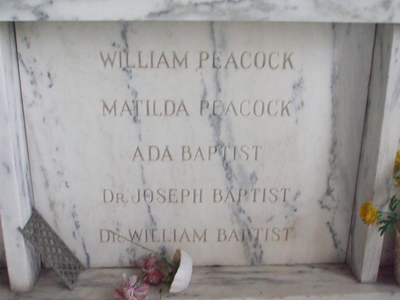 Ada <i>Peacock</i> Baptist