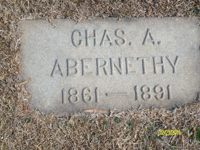 Charles A Chas Abernethy