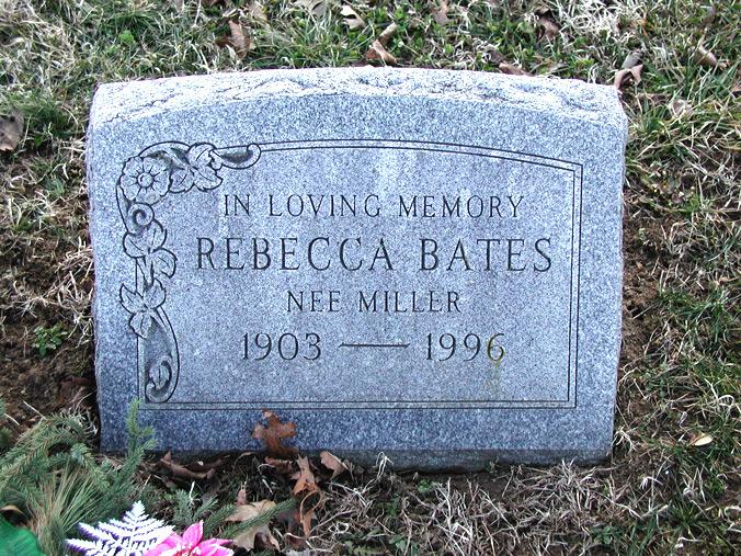 Rebecca <i>Miller</i> Bates