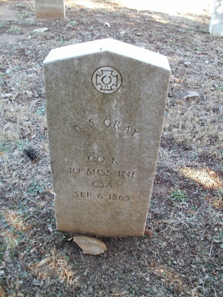 Pvt A. S. Gray