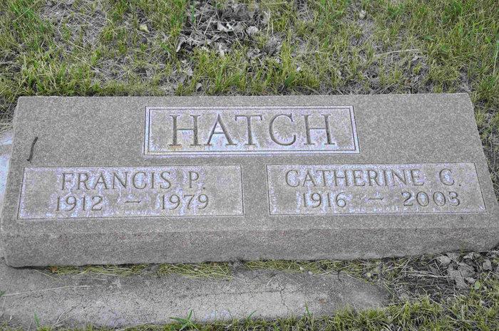 Catherine <i>Crowley</i> Hatch