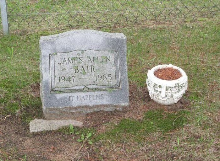 "Profile photo:  James Allen ""Jim"" Bair"