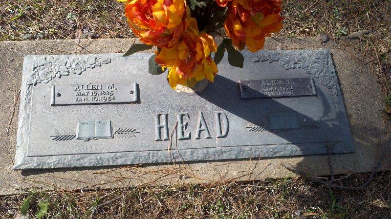 Alice Rebecca <i>Leckie</i> Head