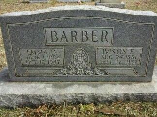 Ivison E Barber
