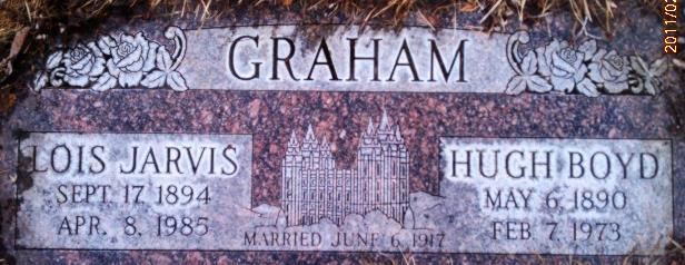 Lois <i>Jarvis</i> Graham