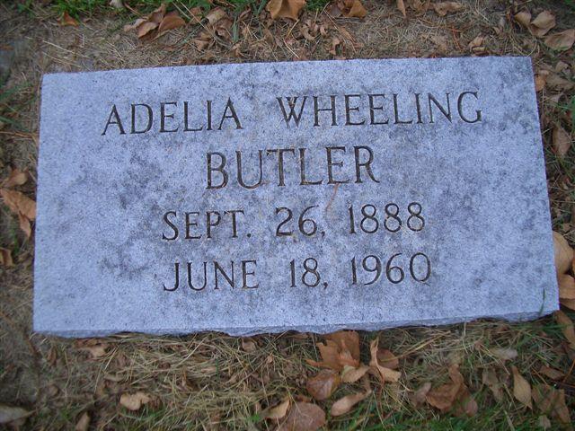 Adelia Lucy <i>Wheeling</i> Butler