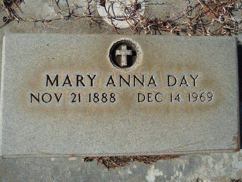 Mary Anna <i>Grant</i> Day