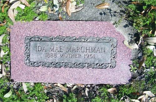 Ida Mae <i>Hardin</i> Marchman