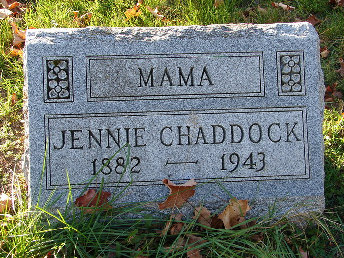 Jennie <i>Persons</i> Chaddock