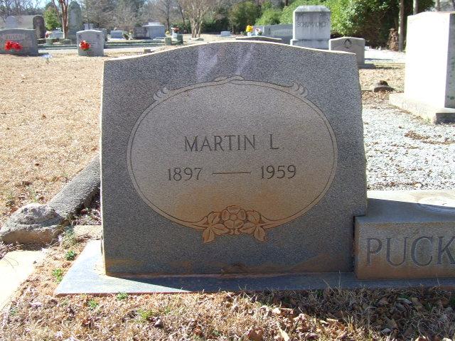 Martin Luther Puckhaber, Sr