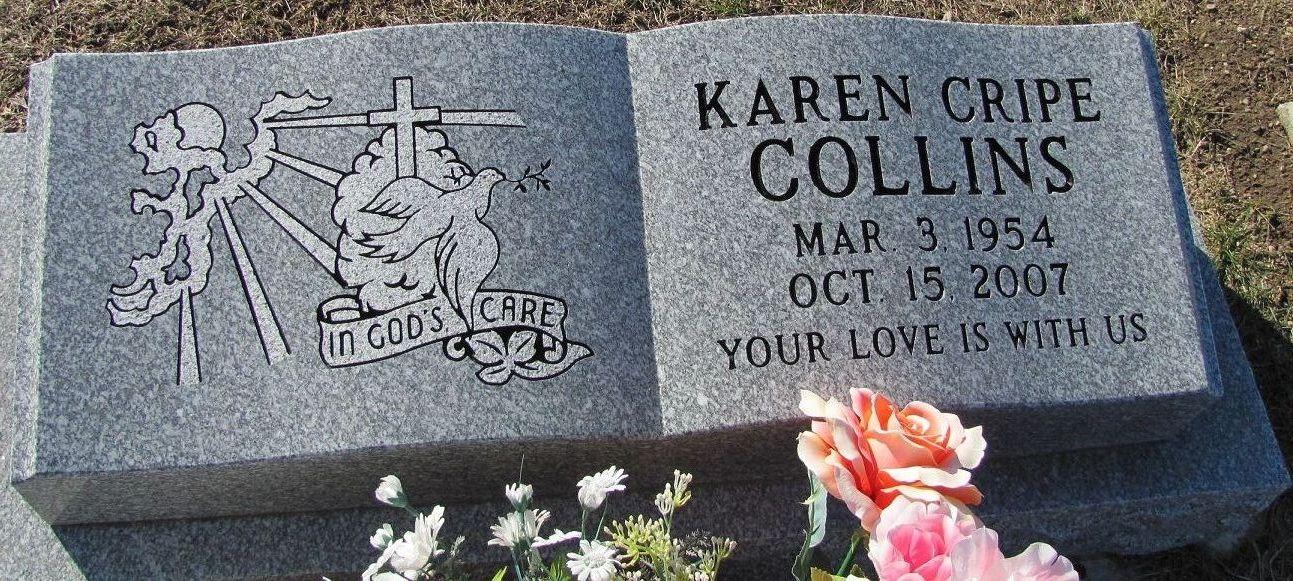 Karen <i>Cripe</i> Collins