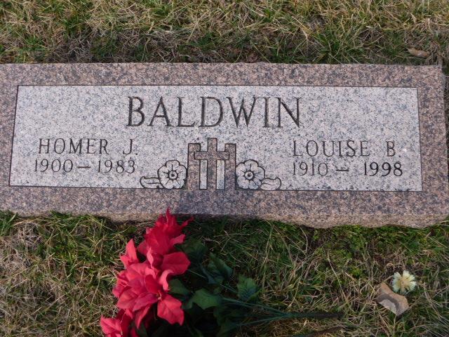 Louise Rice <i>Benson</i> Baldwin