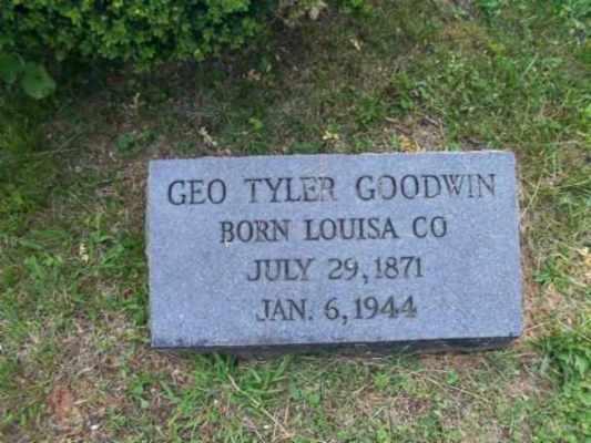 George Tyler Goodwin