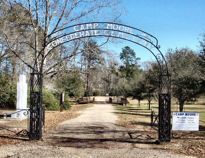 Camp Moore Confederate Cemetery