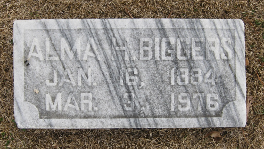 Alma <i>Hollifield</i> Biggers