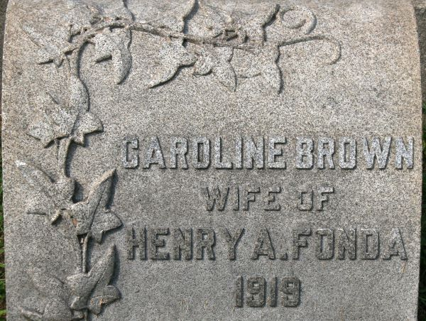 Caroline Louisa <i>Brown</i> Fonda