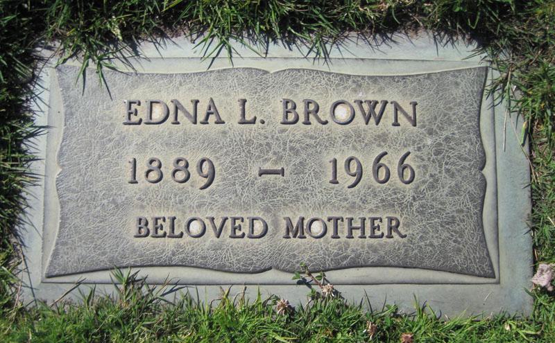 Edna Louisa <i>Barron</i> Brown