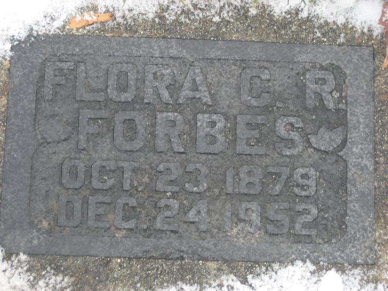 Flora Caroline <i>Ray</i> Forbes