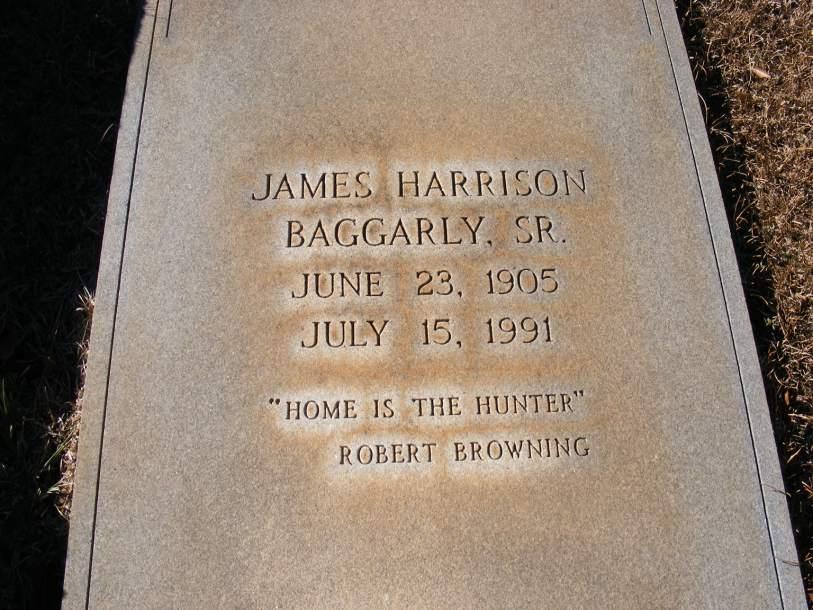 James Harrison Baggarly, Sr