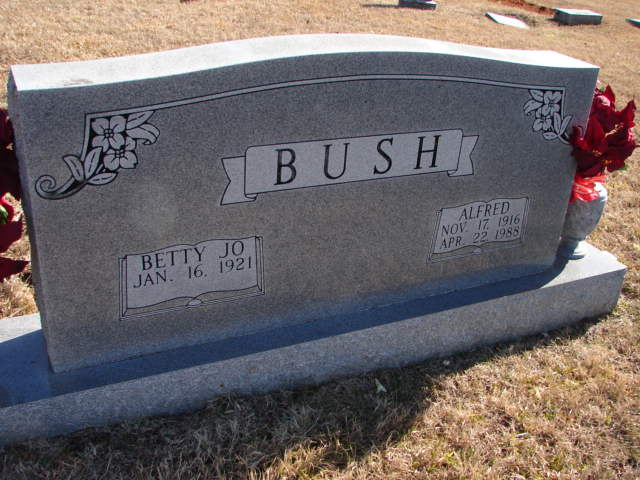 Betty Jo <i>Leftwich</i> Bush