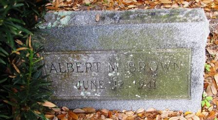 Albert M Brown