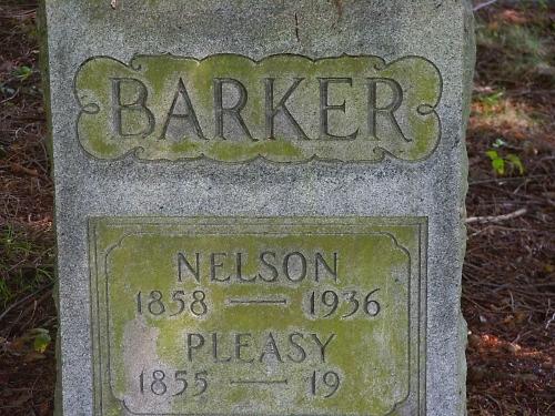 Pleasant Adeline Pleasy <i>Talkington</i> Barker