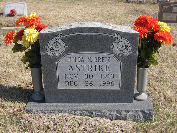 Hilda N. <i>Bretz</i> Astrike