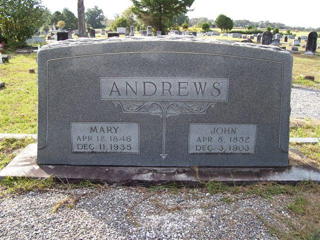 Mary Angers <i>Yon</i> Andrews