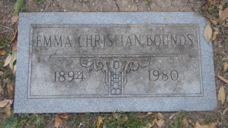 Emma Bell <i>Christian</i> Bounds