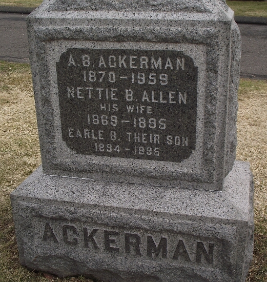 Earle B Ackerman