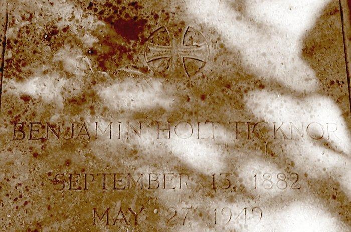 Benjamin Holt Ticknor, II