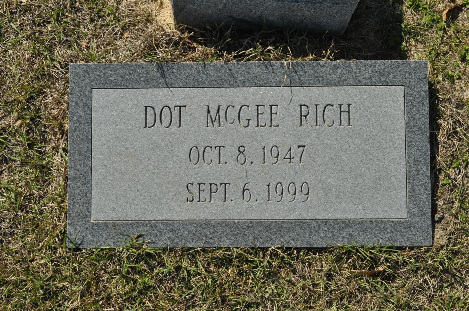 Dot <i>McGee</i> Rich